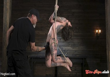 Alt Dream Girl Krysta Kaos Abused and Fucked in Extreme Rope Bondage!!