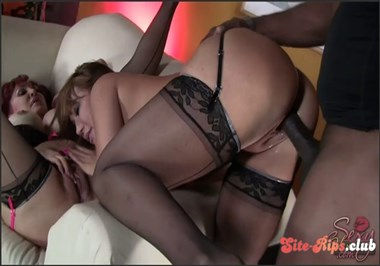 Sharing Black Cock With Friends