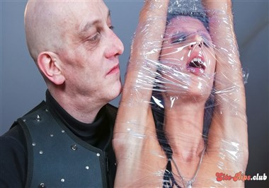 Hot German slave babe July Sun gets tied and tortured in intense BDSM PT 2