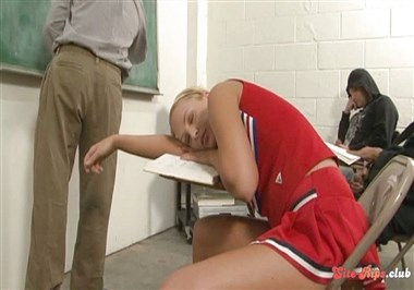 Cock Sucking Cheerleaders Scene 3