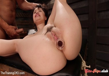 Slave Training: Tied Tight and Pounded Hard in the Ass